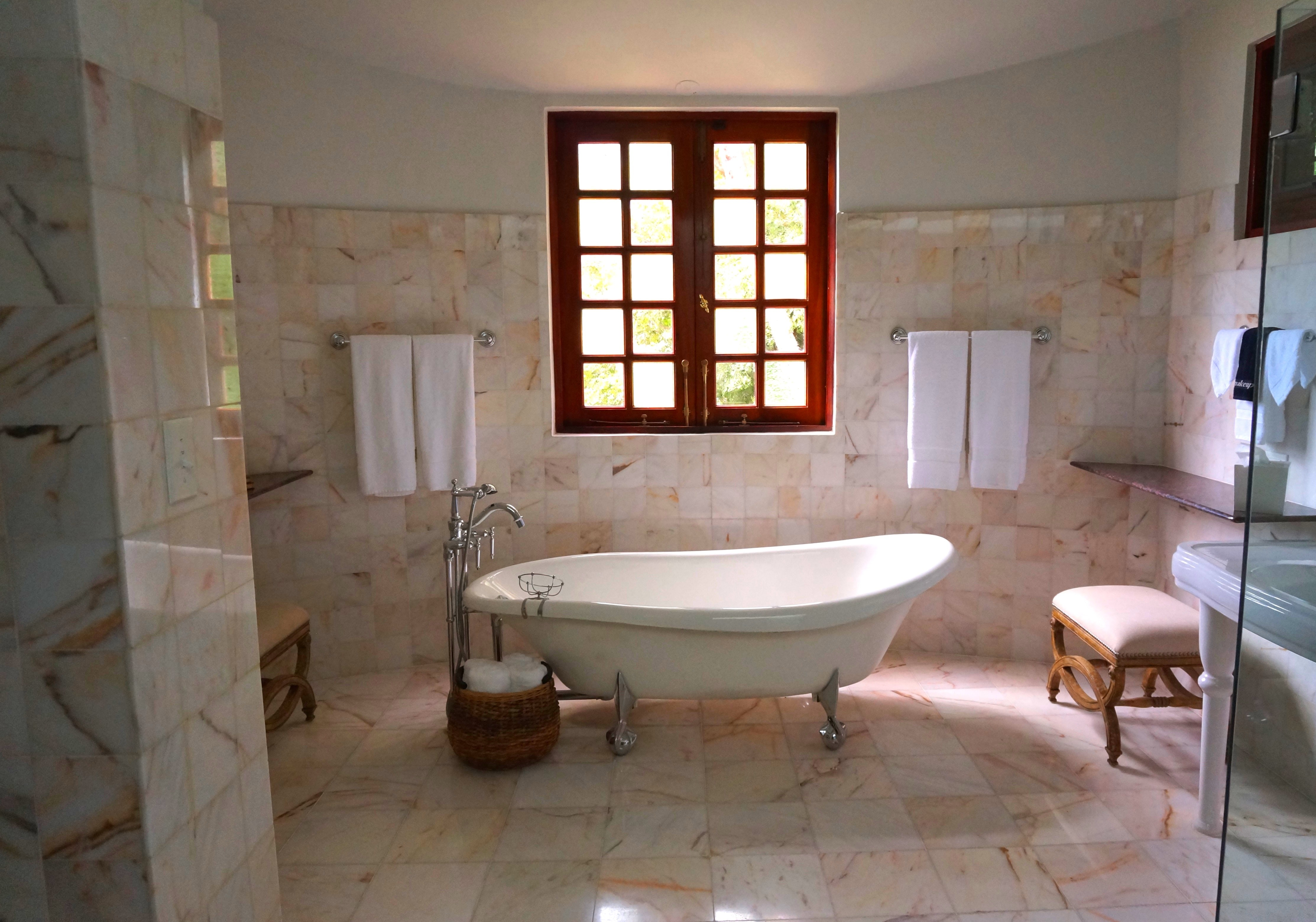 Can You Use Travertine Tiles In The Bathroom Harmony Stone