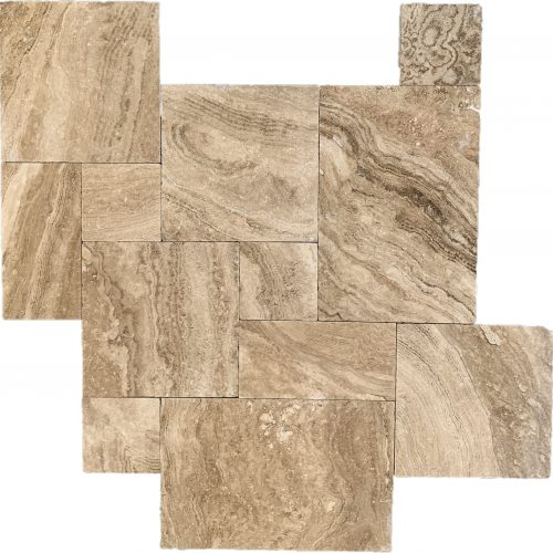Harmony Stone Travertine Paver Harmony River