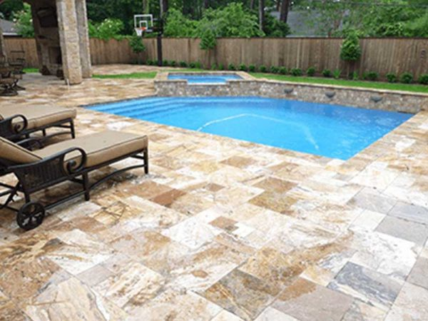 Scabos Pavers French Pattern Tampa FL